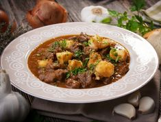 Thick, hearty beef stew doesn't happen by itself. You must take care to thicken the broth or you will have a beef soup instead of a savory beef stew in a. How To Thicken Soup, Goulash, Hearty Beef Stew, Beef Stews, Hearty Meal, Bourguignon, Carne, Rice, Healthy Recipes