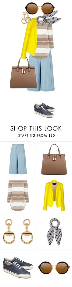 """""""it's gonna be 80 tomorrow, y'all"""" by bananya ❤ liked on Polyvore featuring Diane Von Furstenberg, Dolce&Gabbana, 10 Crosby Derek Lam, Tara Jarmon, Gucci, Erfurt Tücher and Brooks Brothers"""