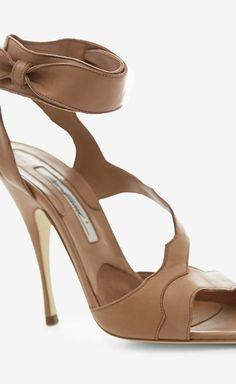 Ankle Wrap Heels.