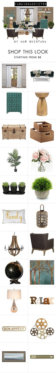 """homefashion addict83"" by mar-quintana on Polyvore featuring interior, interiors, interior design, hogar, home decor, interior decorating, EFF, Nearly Natural, Home Decorators Collection y Thro"