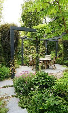 Garden Types, Cheap Landscaping Ideas, Small Backyard Landscaping, Backyard Ideas, Patio Ideas, Pool Ideas, Backyard Seating, Landscaping Borders, Acreage Landscaping