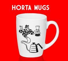 horta Mug Project, Mugs, Tableware, Vegetable Garden, Dinnerware, Tumblers, Tablewares, Mug, Dishes