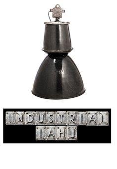 INDUSTRIAL IAHU offers original industrial lamps