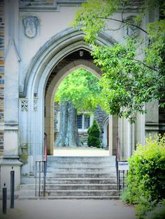 I walked through this archway a million times.