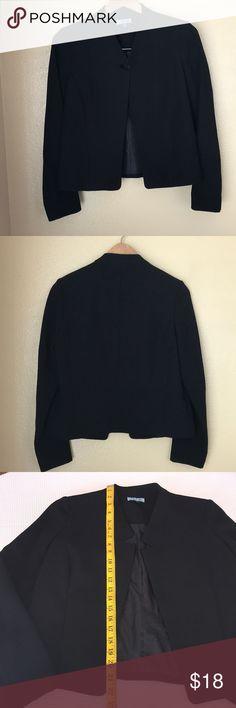 Black Cynthia Rowley Blazer 4 Black Cynthia Rowley Blazer 4 • EUC  • No flaws  • Measurements in photos  • Size 4 • Lined Cynthia Rowley Jackets & Coats Blazers