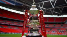 The Emirates FA Cup at Wembley Stadium