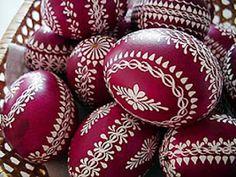 Inspire Bohemia: Kraslice: Czech Easter Eggs