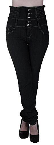 Bleach Denim Nation |  Plus Size High Waist, Elastic Waist, Butt Lift, Skinny Leg Jeans