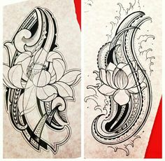 Very beautiful! #polynesian #tattoo Symbolic Tattoos, Unique Tattoos, Cute Tattoos, Body Art Tattoos, Tribal Tattoos, Tatoos, Polynesian Tattoo Designs, Polynesian Tribal, Tattoo Designs Men