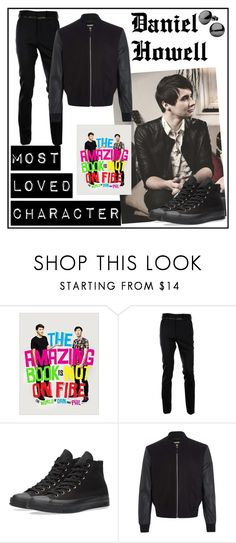 """""""Dan Howell"""" by noelle-mcgowan ❤ liked on Polyvore featuring McQ by Alexander McQueen, Converse, Paul Smith, men's fashion and menswear"""