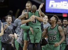 Avery Bradley drills buzzer-beater as Boston Celtics stun... #BostonCeltics: Avery Bradley drills buzzer-beater as Boston… #BostonCeltics