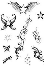 dessin etoile filante tatouage recherche google id e. Black Bedroom Furniture Sets. Home Design Ideas
