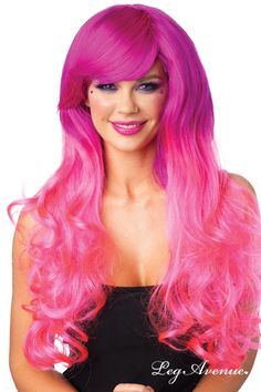 Coloration cheveux rose flashy