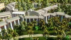 3D MODELLEME Family Lake House RİXOS SUNGATE