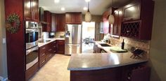 Just found the photos I sent of my remodeled kitchen on the company website - guess it looks as good as I thought!