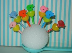 12 Vintage Baby Chicks in Egg Shell Easter Cupcake by RetroPickins, $5.95