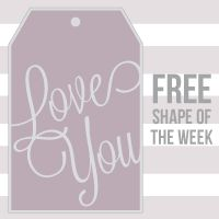 FREE Shape of the Week 6/19