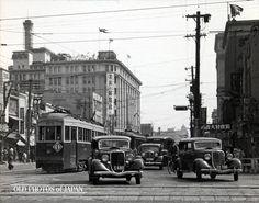 OLD PHOTOS of JAPAN: 日本橋の交通事情 1934年の東京