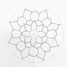 like a flipagram. but slower! Mandala Art Lesson, Mandala Doodle, Mandala Canvas, Mandala Stencils, Mandala Drawing, Mandala Painting, Watercolor Mandala, Mandala Design, Mandala Pattern
