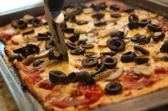 GAPS pizza - Gutsy..great pizza ideas for the coconut flour pizza dough.