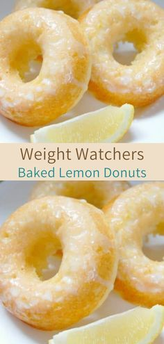 Baked Lemon Donuts These disappeared quickly in our home! They were so light & fluffy! Recipe makes 18 donuts 1 donut = 2 weight watchers points+ = 3 weight watchers smart points Weight Watchers Cupcakes, Weight Watchers Diet, Weight Watchers Desserts, Lemon Recipes, Donut Recipes, Ww Recipes, Cooking Recipes, Healthy Breakfast Recipes, Healthy Snacks