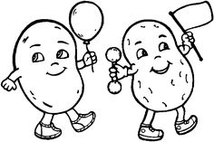 www.peppitext.de Malvorlagen_Obst_Gemuse 156_vegetables.gif Snoopy, Templates, Fictional Characters, Potato, Fruit, Day Care, Stencils, Vorlage, Fantasy Characters