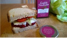 Beetroot and Goats Cheese Sandwich by Food Blogger Over a Cuppa. www.englishprovender.com