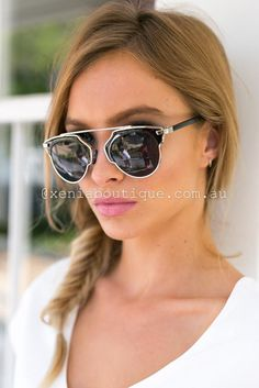 It' So Real Sunglasses ▶ ▷▶ Shop It Now ❤ Xenia Boutique xx