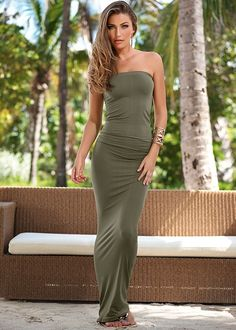 Seamless tube dress, cami from VENUS women's swimwear and sexy clothing. Order Seamless tube dress, cami for women from the online catalog or Tight Dresses, Sexy Dresses, Short Dresses, Fashion Dresses, Women's Fashion, High Level, Beautiful Long Dresses, Beautiful Ladies, Hobble Skirt