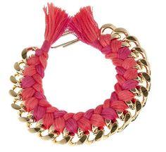 DIY Woven Chain Necklace | http://hellonatural.co/diy-woven-necklace/