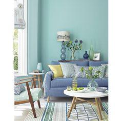 Colour school: Decorate with spearmint & Denim