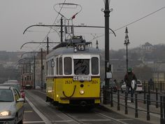 Vintage trams in Budapest Danube River Cruise, Capital Of Hungary, Light Rail, Commercial Vehicle, Budapest Hungary, City Lights, Buses, Diesel, Cities