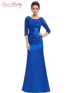 785843017c Elegant Long Sleeve Lace Women s Long Black Evening Dress Formal Dresses  2016