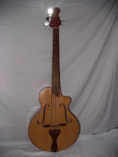 Other Chordophone of the Day - Felipe Perez 5-string acoustic bass