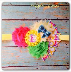 1st Easter Headband My First Easter Headband by MiyahsCloset