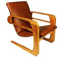 Original 1934 Art Deco Modern Kem Weber Airline Chair. @designerwallace