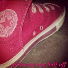 SURFSTITCH - FOOTWEAR - WOMENS FOOTWEAR - SNEAKERS - CONVERSE DAINTY SHOE - IMPATIENS PINK     Fashion pink #converses #sneakers summer 2014