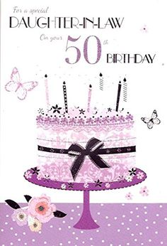 Images About Daughter In Law Birthday Card Jpg 236x346 Happy 50th Wishes Adult