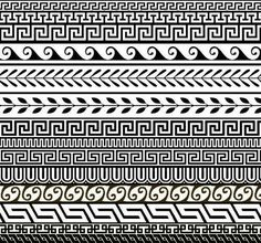 Architectural design would be the art of planning and making important buildings. The greeks design is a really particular type of and prominent brand of layout. ancient greek architecture for kids Pattern Images, Pattern Art, Greece Art, Greek Pattern, Greek Design, Ancient Greek Architecture, Pottery Designs, Ancient Greece, Tile Patterns