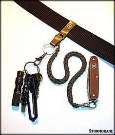Victorinox Belt Hanger Multiclip And Chain Belt Hanger