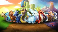 Dragon Mania Legends: Il nuovo gioco Gameloft arriva su Windows Android e iOS (GRATIS) Dragon Ml, New Dragon, Games To Play Now, Games For Boys, Dragon Birthday Parties, Candy Games, Tablet Android, Ultimate Dragon, Legendary Dragons