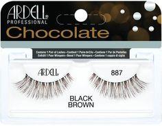 Ardell Chocolate Lashes 887 Black & Brown   #Eye #EyeLashes #ChocolateLashes #Ardell #ArdellEyeLashes    http://www.eyelashesunlimited.com/