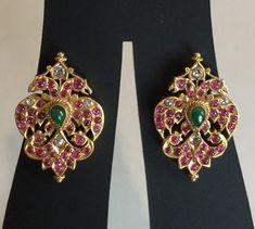 Prodigious Cool Tips: Jewelry Packaging Velvet funky jewelry unique. Indian Jewelry Earrings, Ear Jewelry, Dainty Jewelry, Bridal Jewelry, Antique Jewelry, Beaded Jewelry, Fine Jewelry, Gold Jewelry, Shell Jewelry