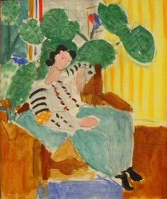ie  Small Romanian blouse with foliage -- Henri Matisse  The Matisse Room
