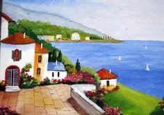 Ölbilder vom Künstler zu verkaufen.