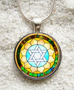 "New art pendants - INCLUDE an 18"" 925 Sterling Silver Plated chain -((( Star of David )))- INCREDIBLE PRICE"