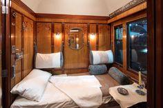 Grand luxe pour les lits de la voiture-lits LX 3532 - Cité du Train (Mulhouse) © C. Recoura
