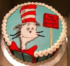 ... cat in the hat birthday cake more susan cat sweets treats sweet treats