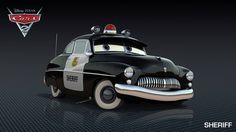 Cars 2 Characters - Characters in Disney Pixar Cars 2 - Sheriff