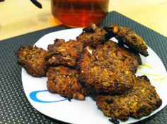 Leinsamen-Nuss-Cookies